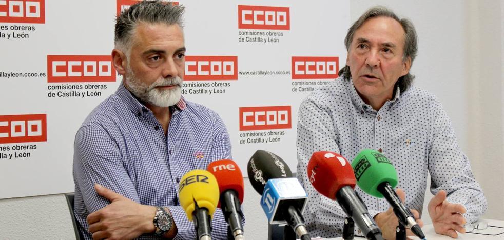 CCOO denuncia que la fatiga mata: el transporte de mercancías en León sufrió 153 accidentes en 2018