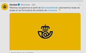 «Cocaína en los paquetes de regalo»: la cuenta de twitter de Correos, hackeada