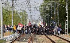Interrumpido el AVE Barcelona-Girona por un «sabotaje»