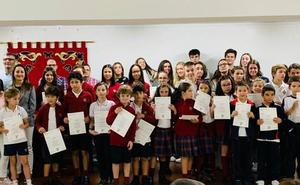 Los alumnos del Leonés reciben su certificación Cambridge en inglés