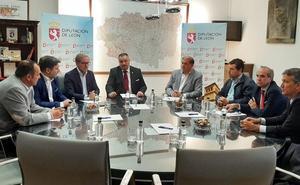 Diputación y Cámara de Comercio trabajan en propuestas para el desarrollo de la provincia