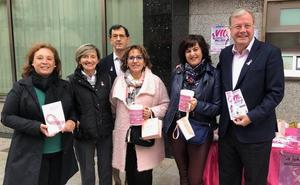 El PP muestra su apoyo a la causa de Almom y la lucha contra el cáncer de mama