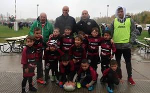 Más de 600 niños disfrutan del rugby en León