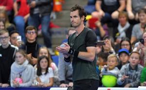Murray se mete en la final de Amberes, la primera desde 2017