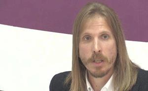 Pablo Fernández denuncia que el «vaciamiento» de León llega a los entes locales al quedarse sin candidato