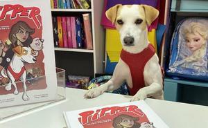 Pipper, el primer perro 'influencer', regresa a León para presetar su cómic
