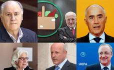 Los 22 hombres más ricos de España