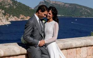Nadal distribuye las primeras fotos de su boda