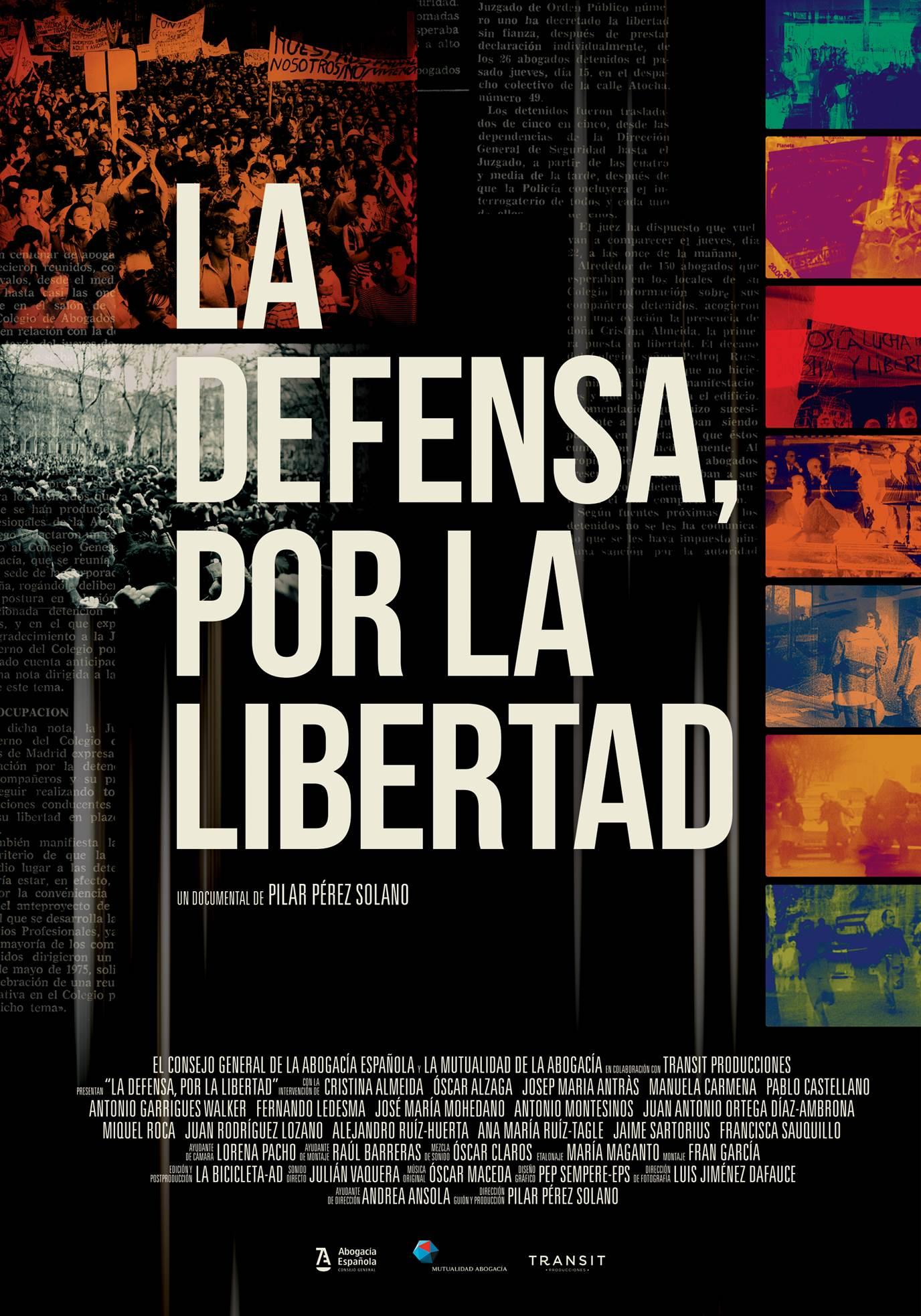 Los Cines Odeón de León acogen el miércoles 20 la proyección del documental 'La defensa, por la libertad'