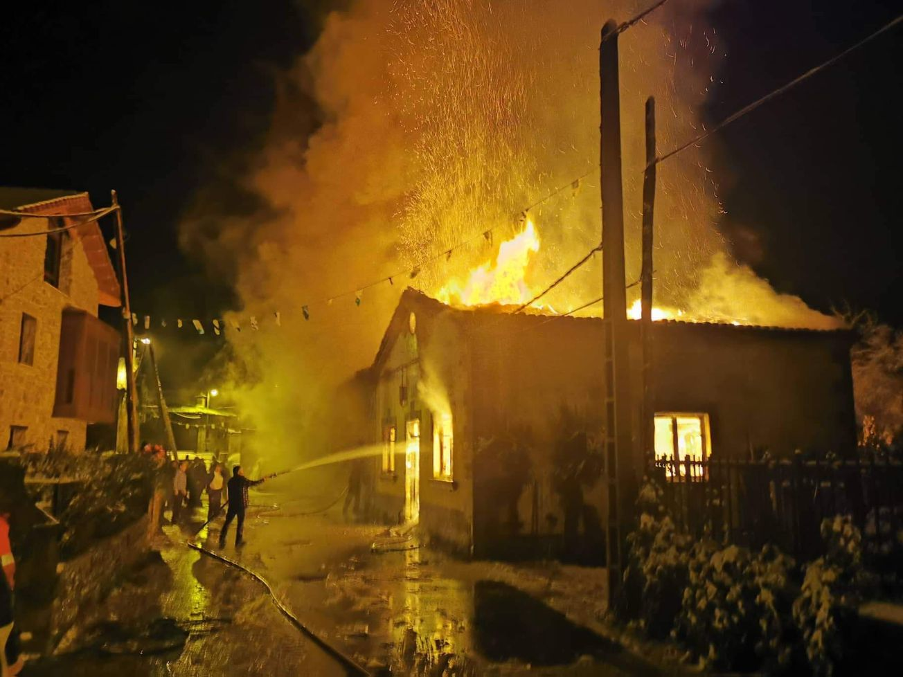 Fuego en Morgovejo