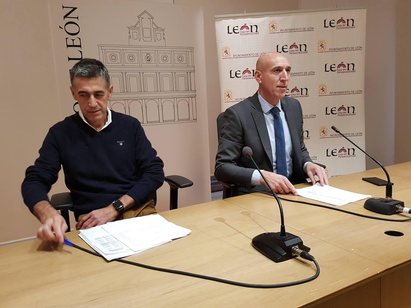 El alcalde de León presenta los presupuestos municipales