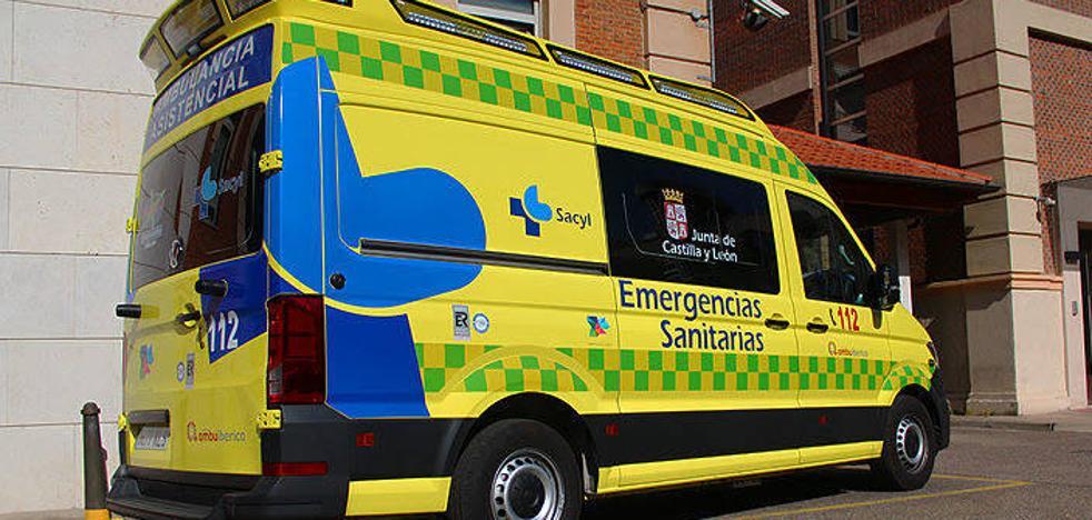 Herido un varón de 47 años que sufrió un accidente en Boecillo y quedó atrapado en el vehículo