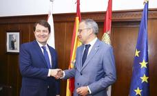 Visita institucional del presidente de la Junta al Bierzo