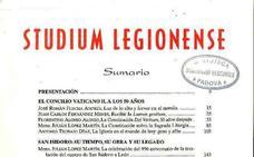 La revista 'Studium Legionense' presenta el número extraordinario que dedica al obispo de León, Julián López