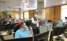El presidente de la Junta visita las instalaciones del Servicio de Emergencias de Castilla y León 112