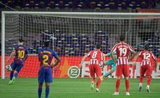 Las mejores imágenes del Barça-Atlético