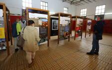 Inauguración de la exposición itinerante sobre la minería leonesa en Fabero