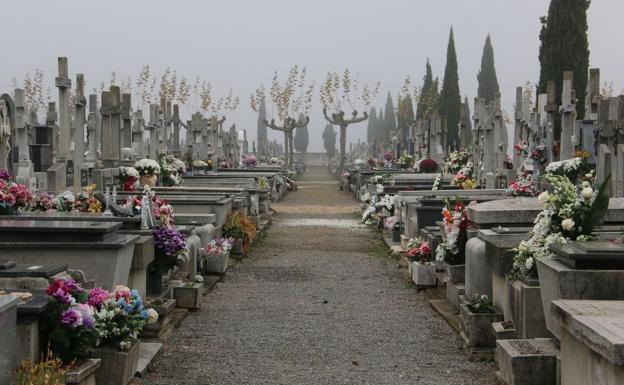 Imagen del cementerio de León.