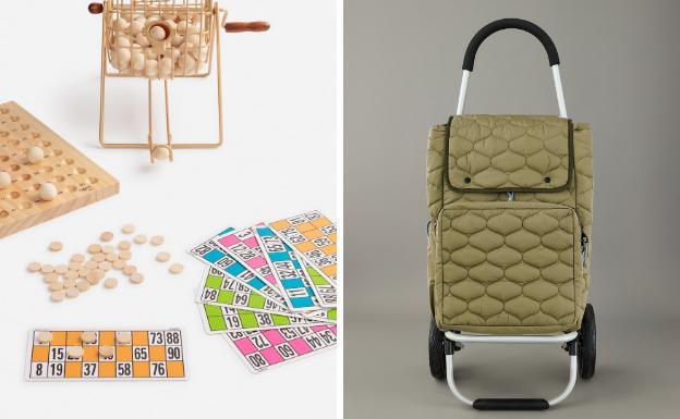 Imagen del bingo de Oysho y el coche viral de Zara.