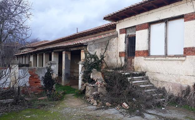 Imagen del estado actual del albergue.