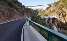 CHMS concluye las obras de reparación y mejora de seguridad en los viales de acceso a la presa de la Fuente del Azufre