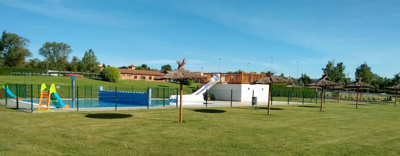 Imagen de las piscinas de Cuadros./