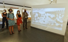 Ponferrada abre la exposición 'Picasso. El viaje del Guernica'