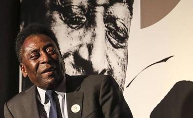 Pelé dice que «está mejor» de salud y bromea con volver a las canchas