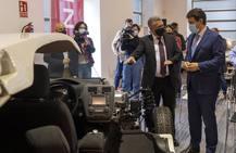 Presentación de un acuerdo de Nissan con el Museo de la Automoción de Salamanca