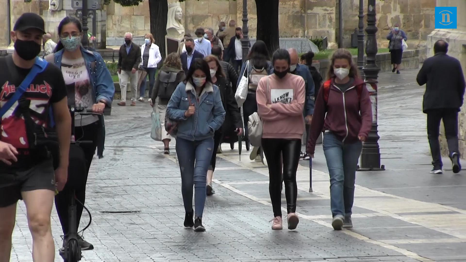 La pandemia rebrota en León con 52 nuevos positivos en el último día y un fallecido