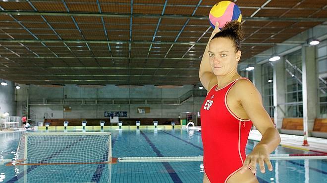 Jennifer Pareja: «Antes el waterpolo femenino ni se conocía»