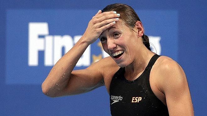 Jessica Vall, la medalla de la nadadora a tiempo parcial