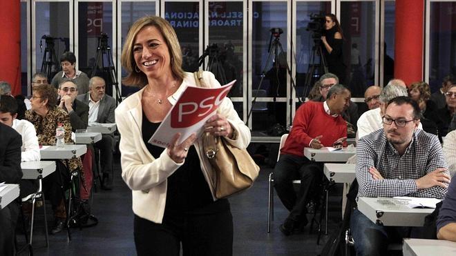 Chacón niega haber impuesto la lista del PSC