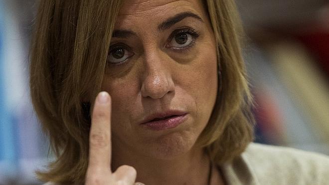 Chacón: la Generalitat «no merece que la arrastren por el suelo» para que Mas «se agarre a la poltrona»
