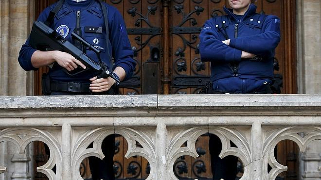 Detenidos dos supuestos terroristas que planeaban atentar en Bruselas en Nochevieja