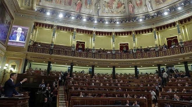 Podemos y Compromís quieren un «Congreso» sin «de los diputados»