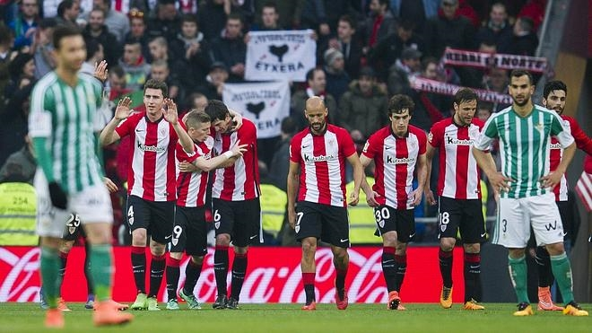 El Athletic se consolida en zona europea con una clara victoria