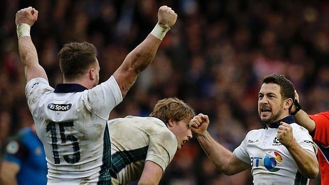 Inglaterra conquista el Seis Naciones