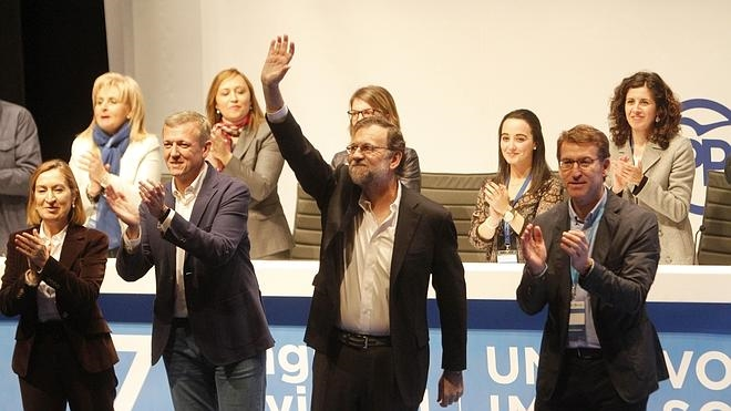 Rajoy: «En esta ciudad eché mis raíces, no quiero ser de ningún otro lugar»