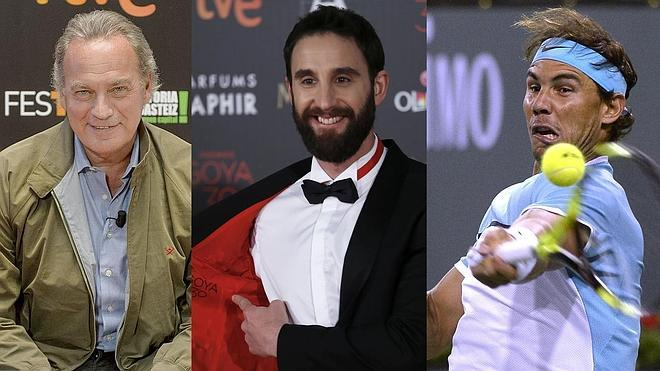 Bertín Osborne, Dani Rovira y Rafa Nadal, los jefes ideales