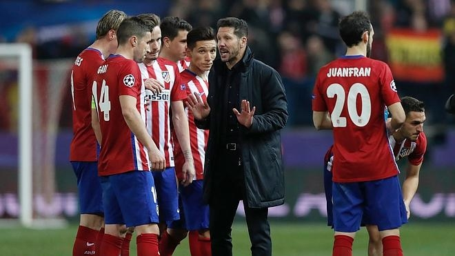 El Atlético cree en la victoria