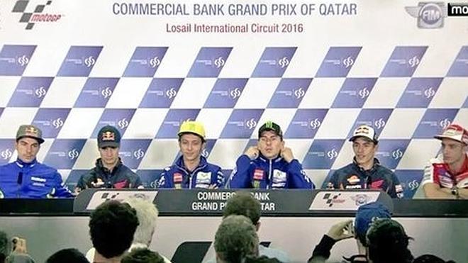 Marc Márquez y Valentino Rossi, la tensión continúa