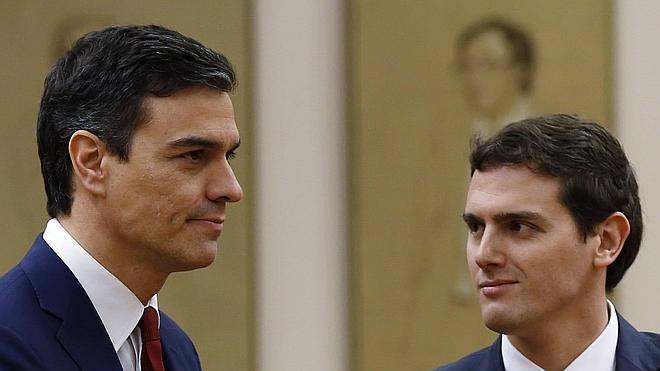 Sánchez y Rivera ratifican su acuerdo como base para cualquier negociación