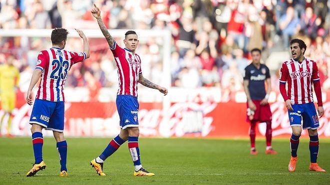 El Sporting baja las pulsaciones del Atlético