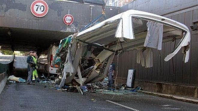 Uno de los accidentes más graves de los últimos años