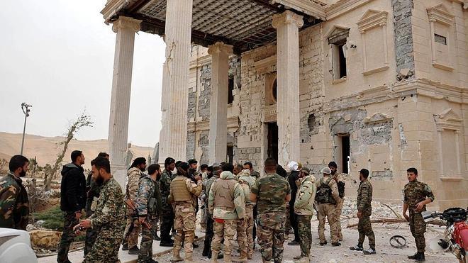 El Ejército sirio controla ya la parte monumental de Palmira