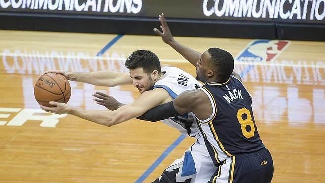 Una mala noche para los españoles en la NBA