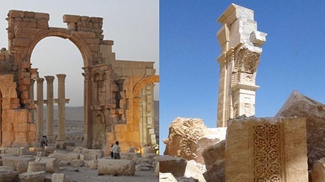 Al rescate de las ruinas de Palmira