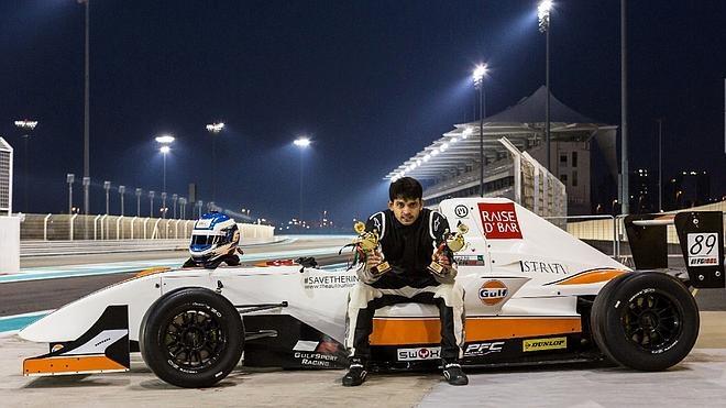 Un piloto paquistaní sueña con la Fórmula 1 en un país loco por el críquet