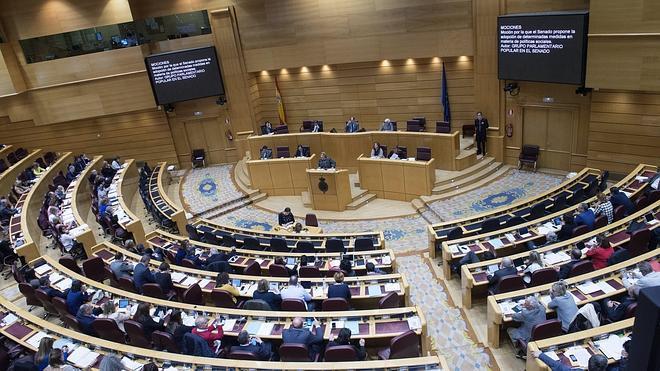 El PP bloquea en el Senado una propuesta para suprimir los aforamientos